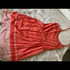 Coral Old Navy sundress